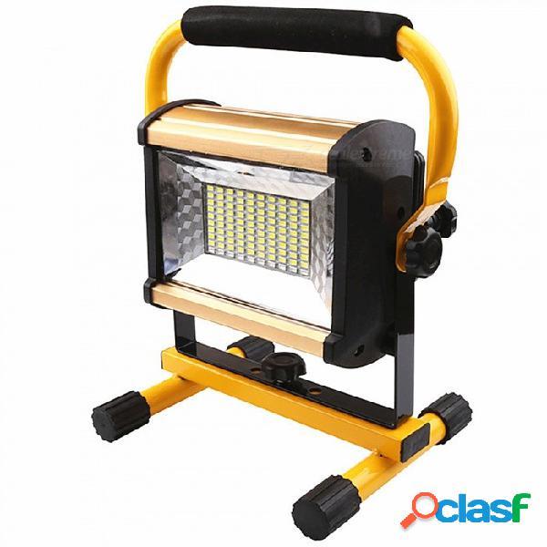 Lámpara astigmática recargable led de 100w para camping. / emergencia al aire libre / tienda de campaña / apagón