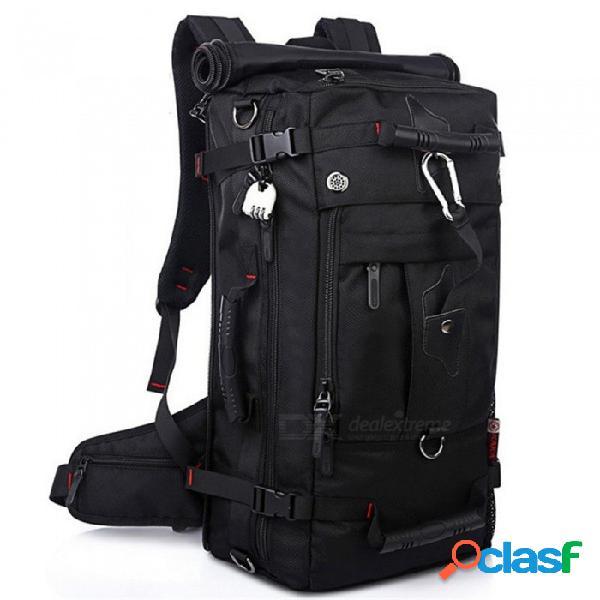 Mochila de viaje mochila para hombre esamact, bolsa de equipaje impermeable y versátil de gran capacidad para el alpinismo