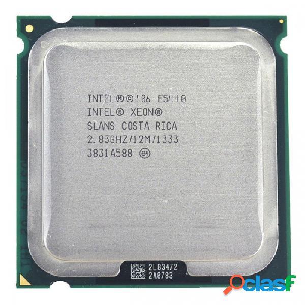 Intel xeon e5440 2.83ghz 12 mb procesador de cuatro núcleos de la cpu funciona en la placa base lga775