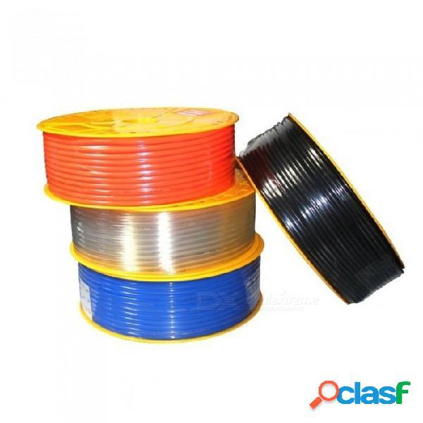 Tubo de aire tubo de tubo neumático tubo de 10mm od 6.5mm id 8mmx5mm 6mm x 4mm 2.5mm 12x8mm transparente azul rojo pu tubo de gas de aire manguera de 4mm od x 2.5mm id / transparente