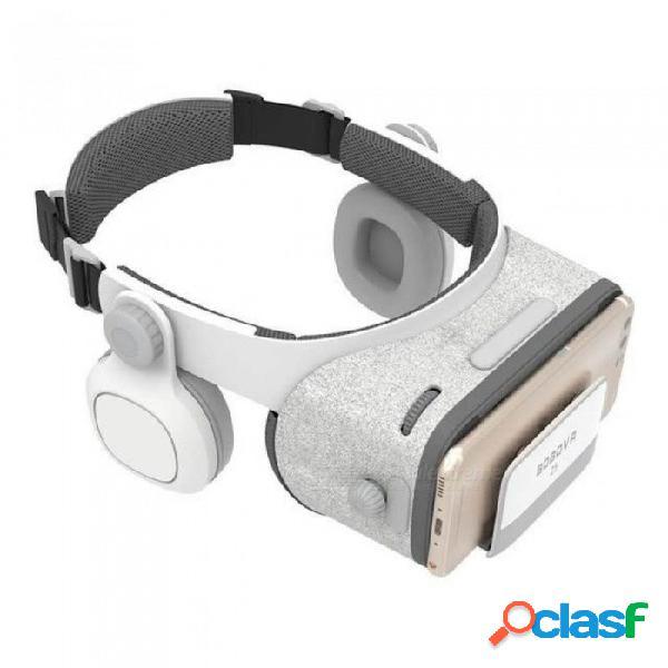 Z5 realidad virtual 3d gafas de cartón fov 120 grados vr caja 3d auriculares para android ios con controlador remoto daydream sin ningún control remoto