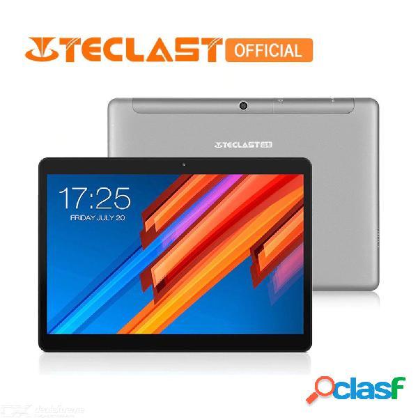Teclast m20 doble 4g teléfono tableta pc mt6797 x23 4gb ram 64gb rom android 8.0 10.1 pulgadas 2560 * 1600 doble wifi gps phablet