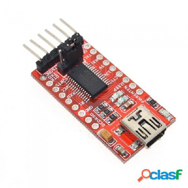 Zhaoyao wavgat ft232rl ftdi usb 3.3v 5.5v a ttl módulo adaptador de serie para arduino mini puerto ft232