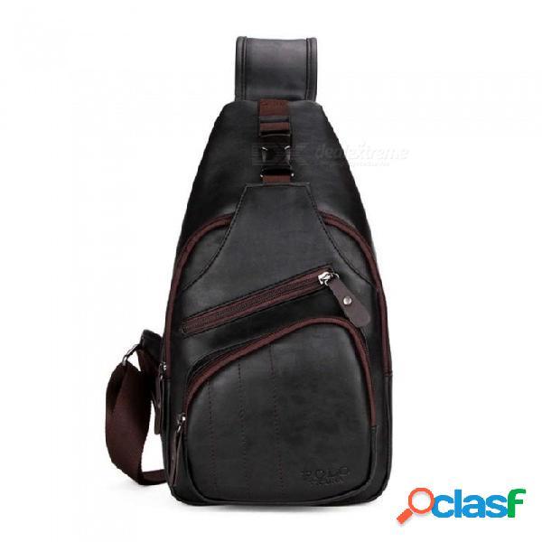 Tamaño extra grande para hombre bolso de hombro a prueba de intemperie morral negro cuero para hombre bolsa de mensajero bolsa de viaje negro