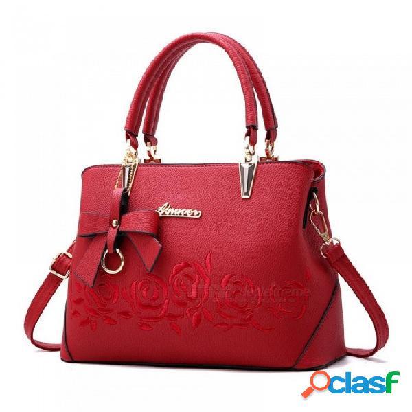 Bolso de las mujeres bolso de la vendimia bolso de mano de la manera ocasional bolsas de mensajero de las mujeres bolso de hombro