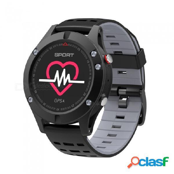 F5 0.95 quot reloj inteligente con pantalla a color y bluetooth con monitor de ritmo cardíaco, gps, múltiples modos de deporte, rastreador de ejercicios