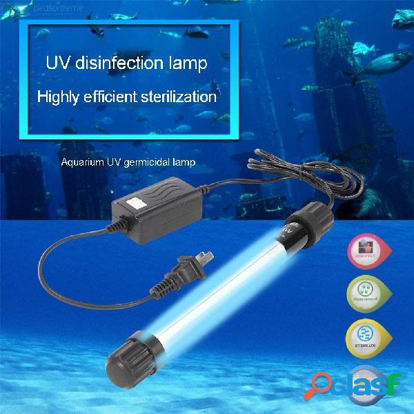 Luz ultravioleta uv del esterilizador de la lámpara ultravioleta del acuario 11w 13w para el agua del acuario