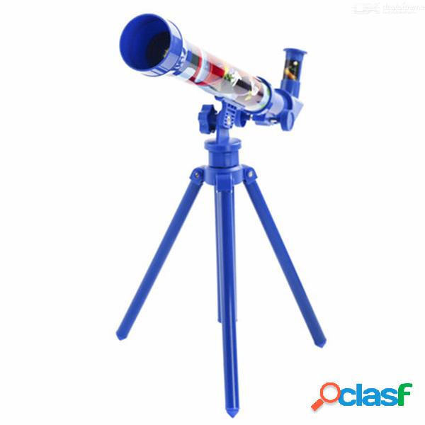 Disney mickey mouse original 30mm telescopio de viaje para niños, mickey mouse cartoon cartoon toys for children