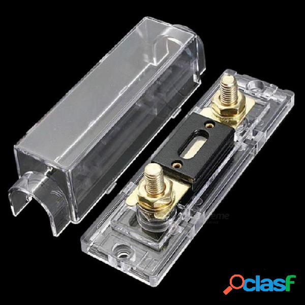 Distribución de portafusibles anl de 300 amperios en la línea 0 4 8 ga positivo con fusible anl portafusibles anl