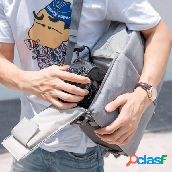 Bolsa De La Cámara Cámara De Video Digital Bolsa De Video Portátil Impermeable 14quot Escuela Casual Bolsa De Fotos Para Canon Nikon Sony Mochila Para Cámara