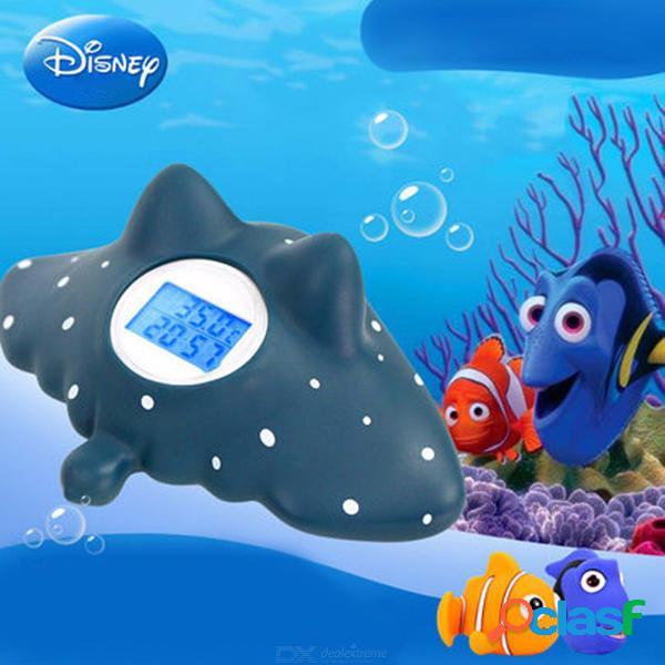 Disney encuentra el termómetro de baño multifunción nemo fish para el bebé w / 2 pcs baño de juguete flotante