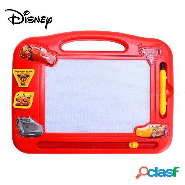 Disney mcqueen tablero de dibujo magnético, tablero lindo del doodle de la historieta borrable para los niños
