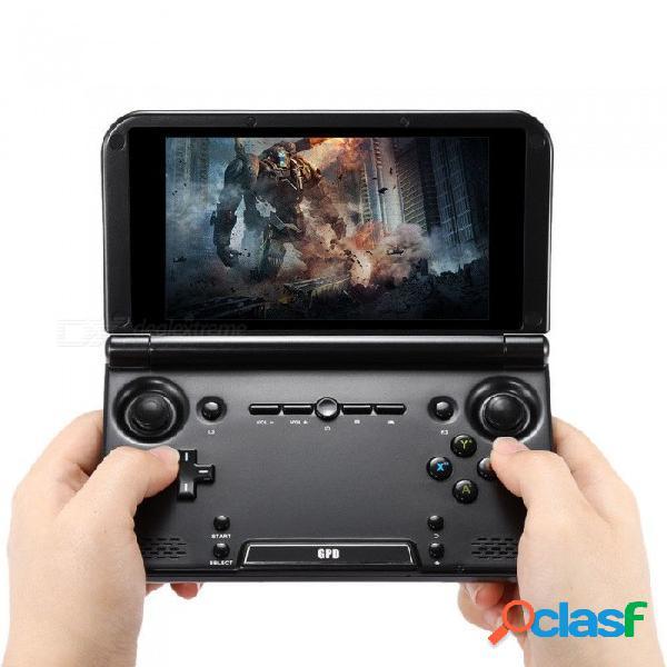 original GPD XD plus 5 pulgadas 4GB / 32 GB MTK 8176 hexa-core consola portátil de juegos portátil para juegos - negro