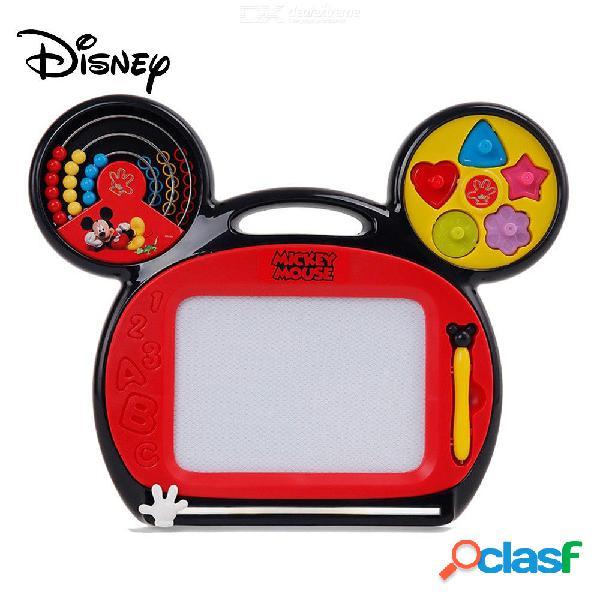 Tablero de dibujo magnético de la historieta del ratón de mickey disney, tablero borrable del garabato para los niños