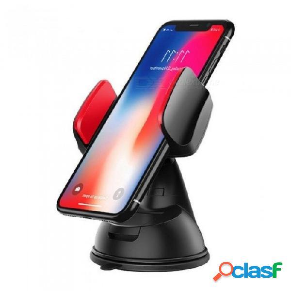 Soporte universal para parabrisas de coche soporte para teléfono móvil para iphone 5s 6s 7 más soporte para teléfono móvil para coche gps