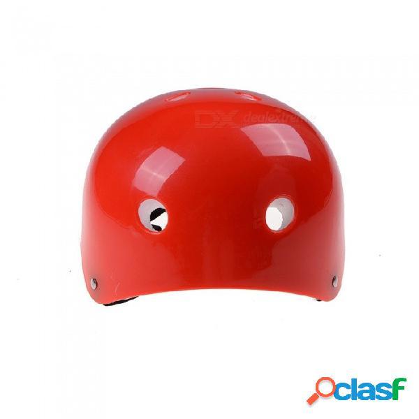 Casco protector de la bici del casco de la bici del abs para los deportes al aire libre que andan en monopatín bicicleta de la vespa que completa un ciclo para 2 ~ 5 años viejo azul