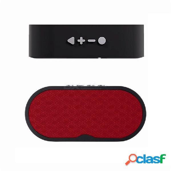 Altavoz inalámbrico bluetooth sonido estéreo manos libres llamada subwoofer altavoces música audio con micrófono tf usb