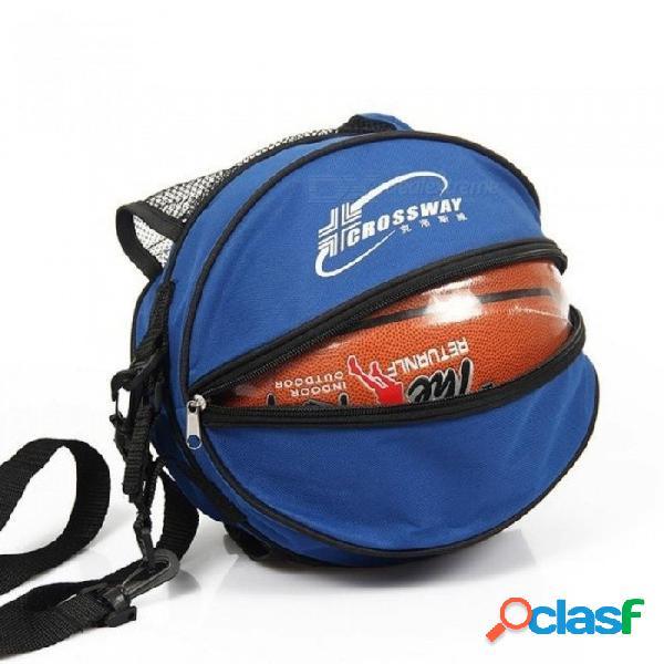 Deportes al aire libre hombro bolsas de balones de fútbol accesorios de equipos de entrenamiento niños kits de fútbol voleibol baloncesto bolsa negro