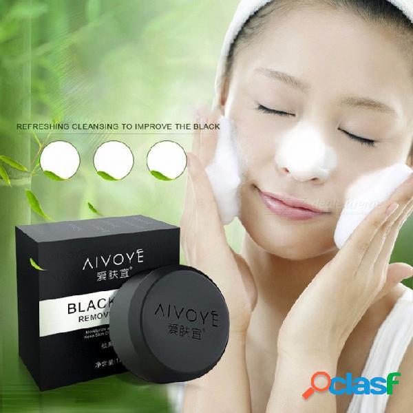 Jabón hecho a mano de carbón de bambú jabón un jabón de limpieza de jabón de aceite esencial para la cara otro