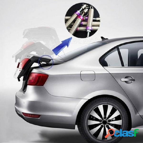 1 unids maletero de elevación automática del maletero del coche para audi a4 a3 a6 c6 b7 b8 b5 b5 q5 q7 asiento leon ibiza skoda fabia yeti accesorios púrpura