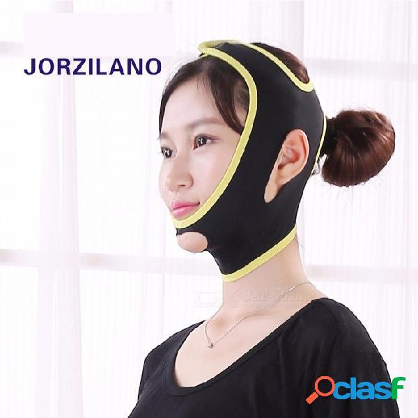 Lifting facial cinturón para dormir lifting facial masajeador relajación facial vendaje para mujeres hombres (tamaño m)