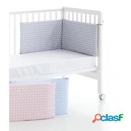 Protector cuna blue & pink twinkle
