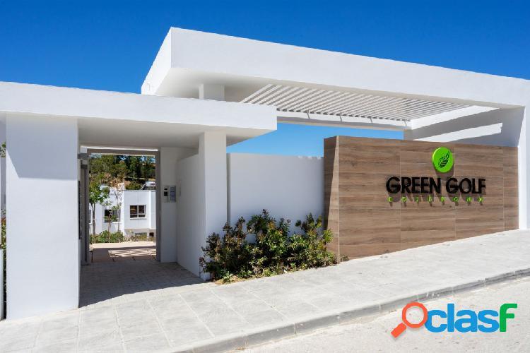 desde 280.000€ GREEN GOLF, ADOSADOS DE OBRA NUEVA EN VENTA EN ESTEPONA GOLF, COSTA DEL SOL 1