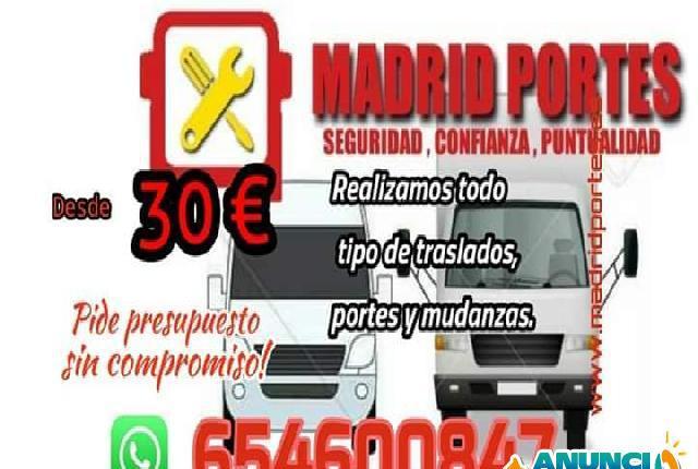 Empresa dedicada en mudanzas san blas - madrid