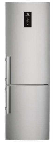 Electrolux en3854pox - frigorífico combi nofrost 205x60cm
