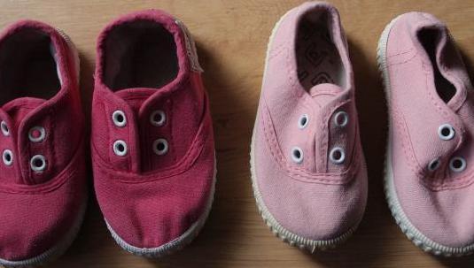 Lote zapatillas lona nº 21