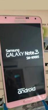 Samsung galaxy note 3 rosa nuevo