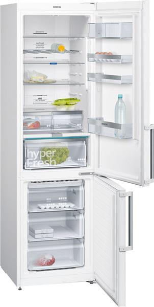Siemens kg39naw3p - frigorífico combi clase a++ 203 x 60 cm