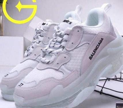 Zapatos balenciaga sss triple s unisex