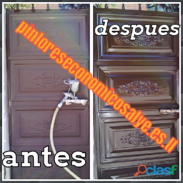 PINTORES EN MOSTOLES REBAJAS EN PUERTAS DE EXTERIOR 689289243 ESPAÑOLES