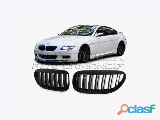 Rejillas Negro Delante BMW E63 + E64