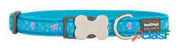 Red dingo collar para perros butterfly turquesa l 300 gr