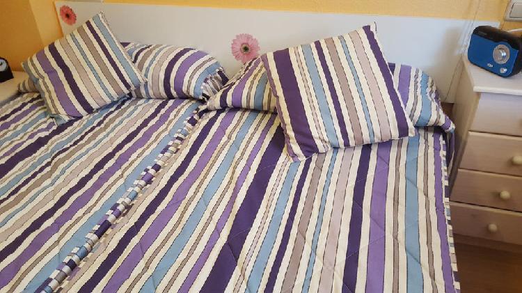 2 camas completas de 90
