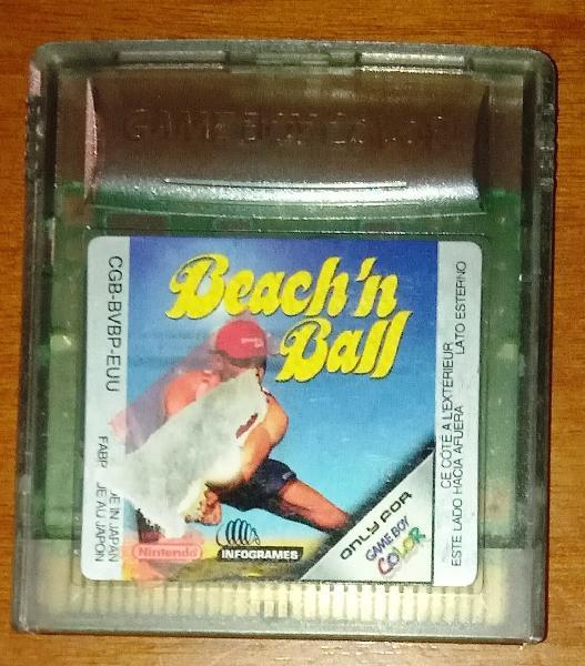 Beach'n ball, gameboy color