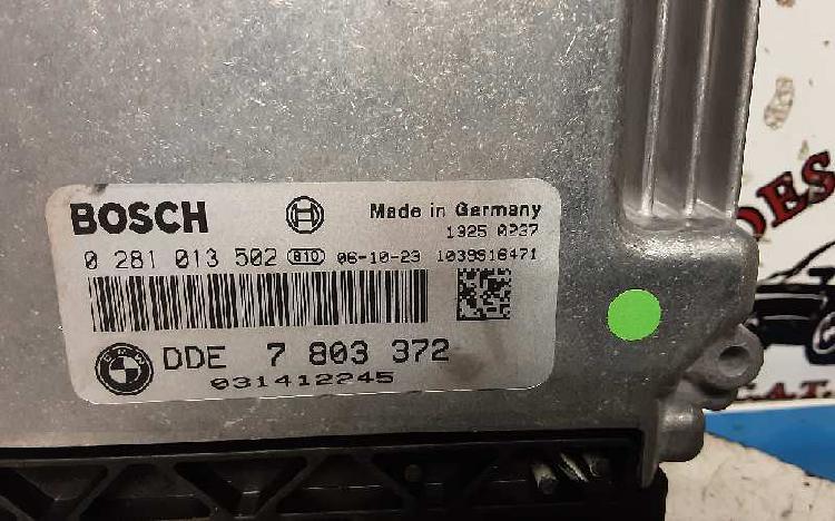 Centralita motor bmw 3 (e90) 318d dde 7 803 372