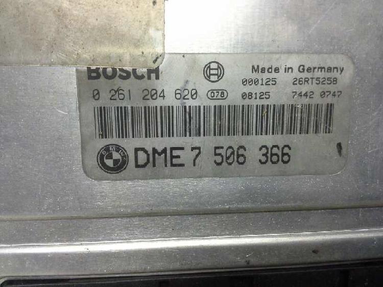 Centralita motor bmw x5 (e53) 4.4i 0 281 204 620
