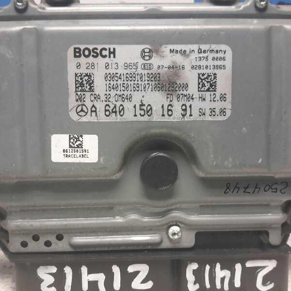 Centralita motor mercedes clase a a 640 150 16 91