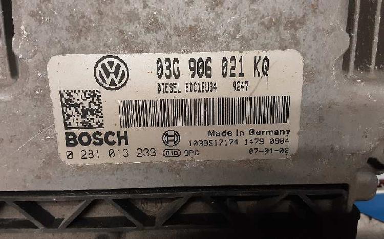 Centralita motor vw golf plus 5m1 03g 906 021 kq