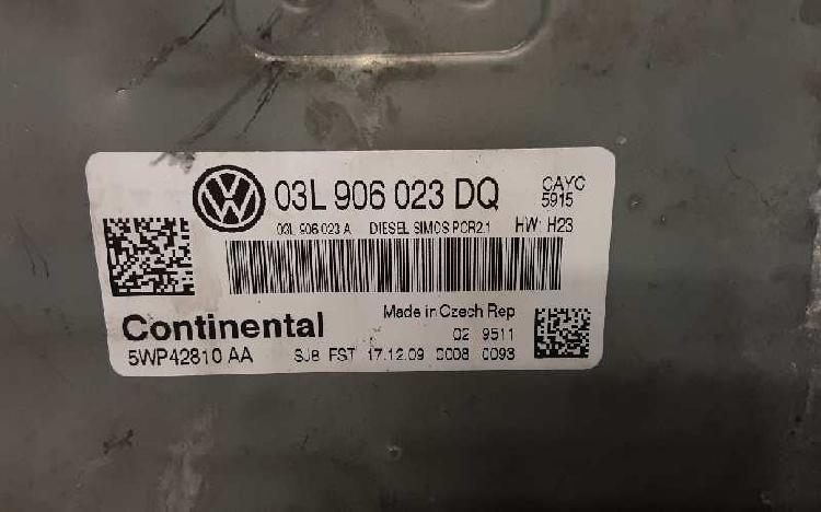 Centralita motor vw golf vi (5k1) 5wp42810aa