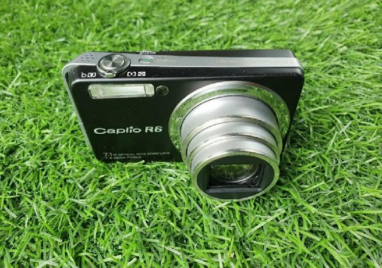 Camara de fotos digital ricoh caplio r6