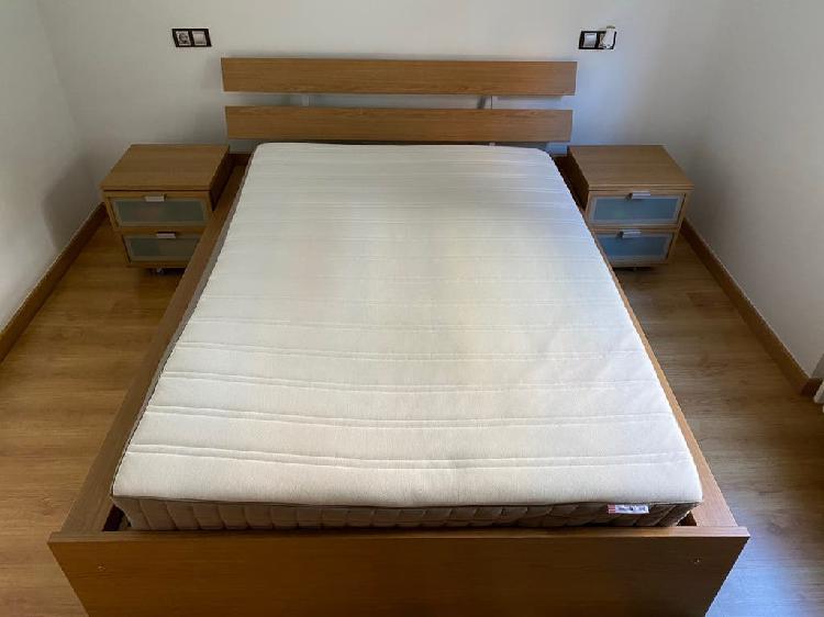 Estructura de cama ikea hopen 140x200