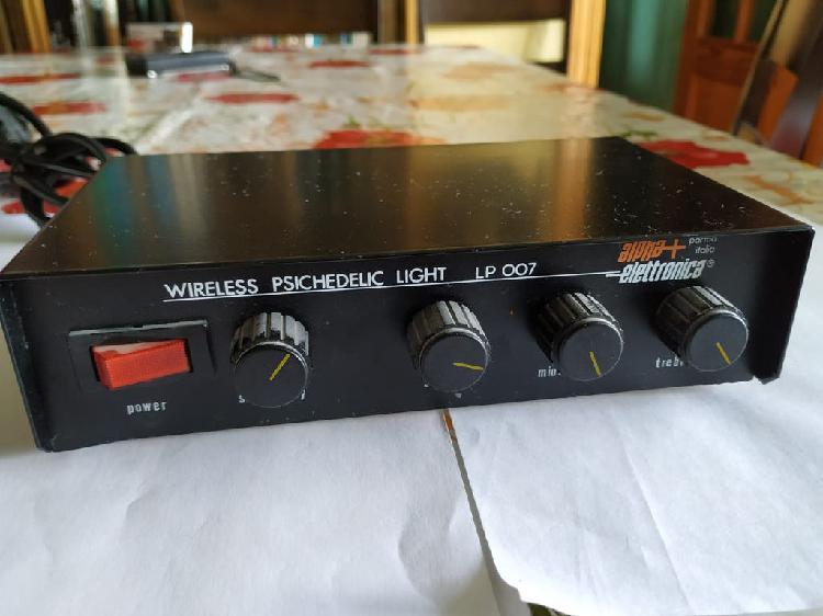 Juego de luces por entrada de audio, casi nuevo