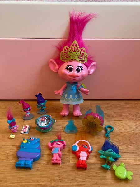 Lote muñecos peli trolls