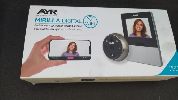 Mirilla digital ayr wifi 760 nueva