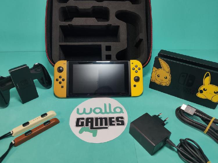 Nintendo switch edicion pokémon