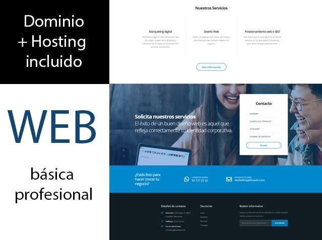 Página web económica